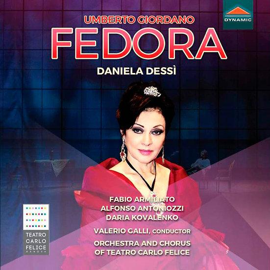 喬達諾 : 歌劇《費多拉》 Umberto Giordano: Fedora (2CD)【Dynamic】