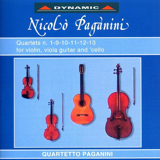 帕格尼尼:吉他四重奏1 Nicolo Paganini: Complete Quartets (Vol.1) (2CD)【Dynamic】
