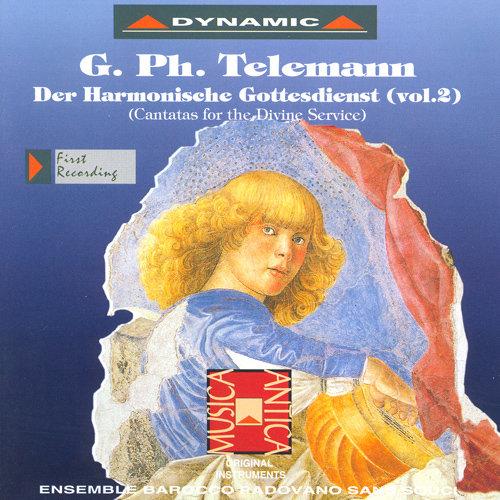 泰雷曼:和諧的禮拜式 第二集 (CD)【Dynamic】