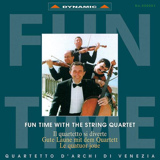 威尼斯古典四重奏:顛覆古典 Fun Time with the String Quartet (Vinyl LP)【Dynamic】