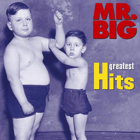 大人物合唱團:經典全紀錄 Mr. Big: Greatest Hits (CD) 【Evosound】
