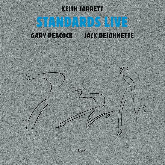 奇斯.傑瑞特三重奏 Keith Jarrett Trio: Standards Live (CD) 【ECM】