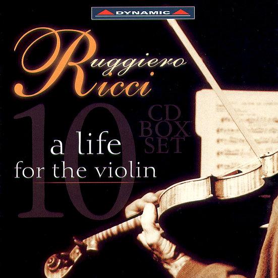 黎奇:提琴人生 Ruggiero Ricci: A Life For The Violin (10CD)【Dynamic】