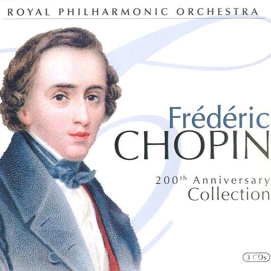 蕭邦200周年紀念專輯 Chopin 200th Anniversary Collection (3CD) 【Evosound】