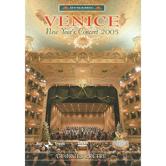 2005威尼斯新年音樂會 New Years' Concert 2005 in Venice (DVD)【Dynamic】