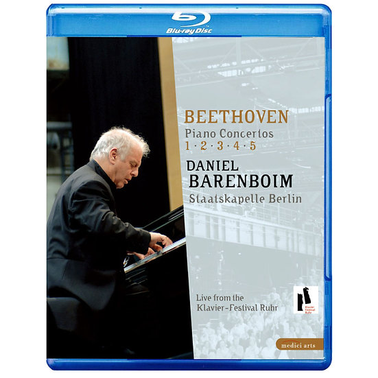 貝多芬鋼琴協奏曲全集 Beethoven Piano Concertos No.1-5 (藍光Blu-ray) 【EuroArts】