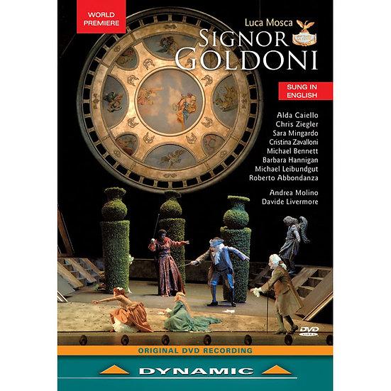 莫斯卡:歌劇《奇諾爾多尼》 Luca Mosca: Signor Goldoni (DVD)【Dynamic】