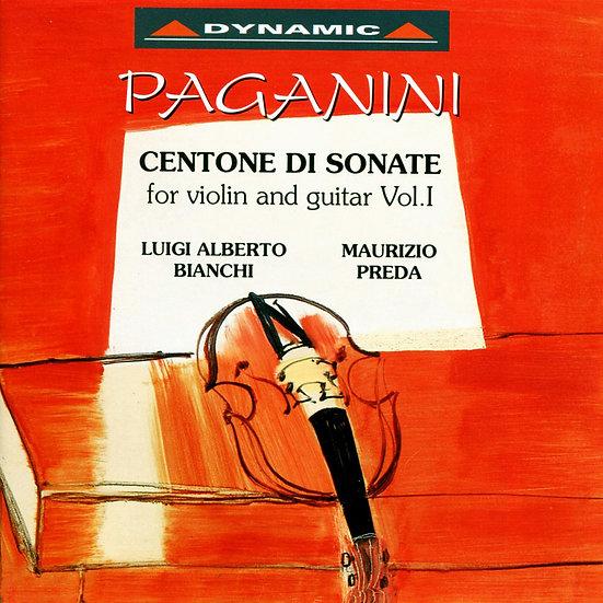 帕格尼尼:小提琴與吉他奏鳴曲5 (CD)【Dynamic】