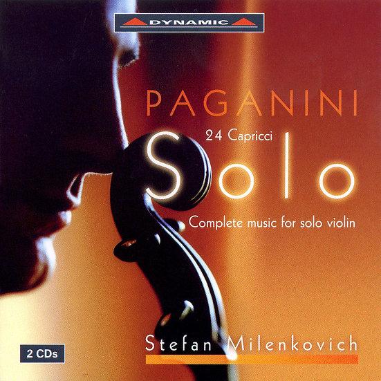 帕格尼尼:小提琴獨奏作品全集、24首隨想曲 Paganini: Complete Works for Solo Violin (2CD)【Dynamic】