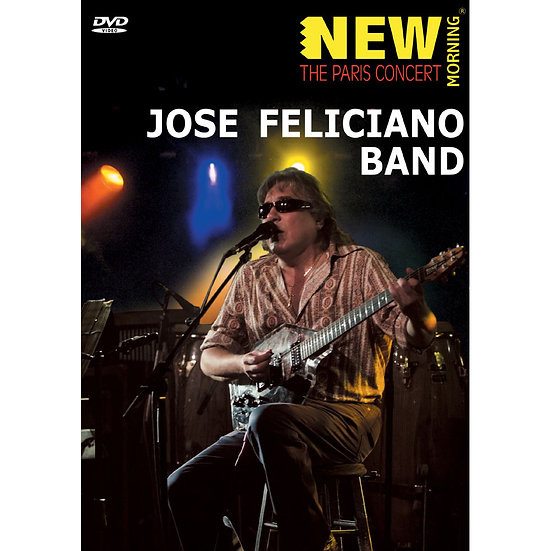 荷西.費里斯安奴:巴黎演奏會 Jose Feliciano Band: The Paris Concert (DVD) 【Evosound】