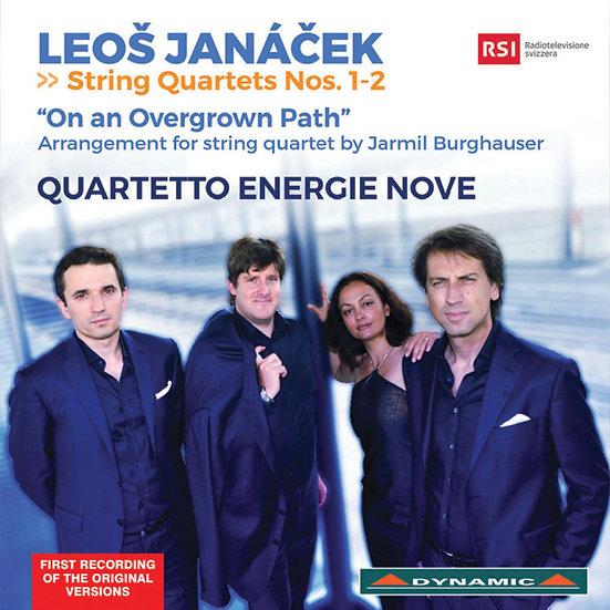 楊納傑克:第一、二號弦樂四重奏、「荒煙小徑」 Leoš Janáček String Quartets (CD)【Dynamic】