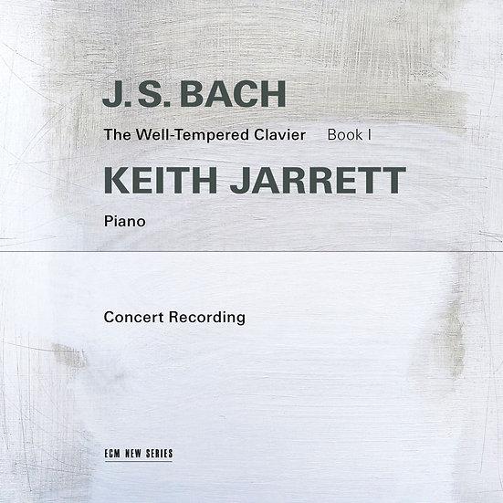 巴哈:鋼琴平均律第一冊|鋼琴:奇斯.傑瑞特 (2CD) 【ECM】