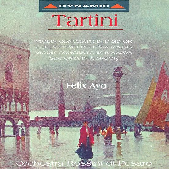 塔替尼:小提琴協奏曲 第一集 Giuseppe Tartini: Violin concertos (Vol. 1) (CD)【Dynamic】