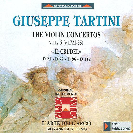 流浪小提琴家塔替尼:小提琴協奏曲全集3 Tartini: The Violin Concertos Volume 3 (CD)【Dynamic】