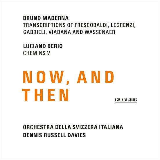 義大利瑞士管弦樂團/丹尼斯.羅素.戴維斯 :Now, And Then (CD) 【ECM】