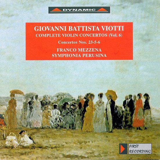 大師的禮讚 – 維歐提小提琴協奏曲全集6 G. Battista Viotti: Complete violin concertos (Vol.6) (CD)【