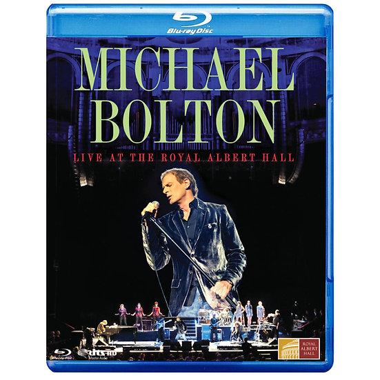 麥可波頓:皇家亞伯廳現場 Michael Bolton: Live At the Royal Albert Hall (藍光Blu-ray) 【Evosound