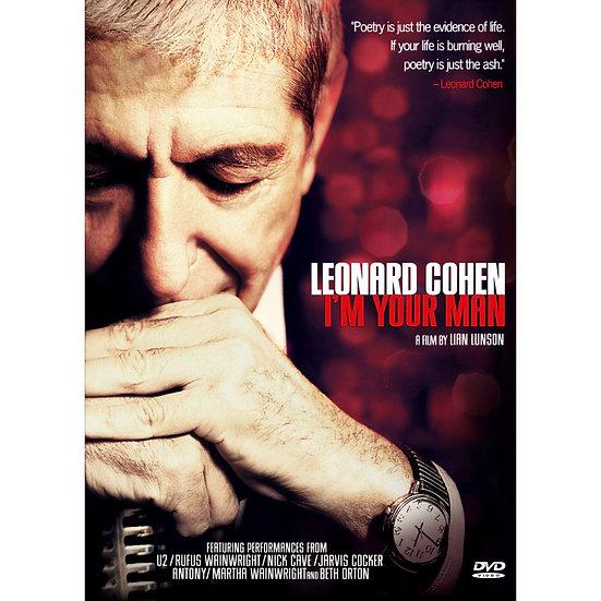 李歐納.科恩:我是你的男人 Leonard Cohen: I'm your man (DVD)