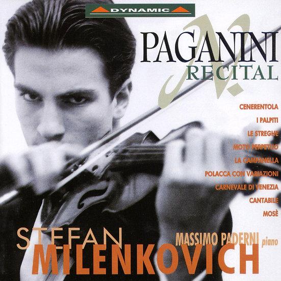 帕格尼尼:魔鬼炫技曲 Stefan Milenkovich: Paganini Recital (CD)【Dynamic】