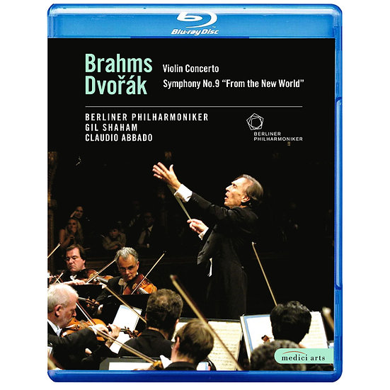 2002歐洲音樂會 在義大利西西里 Abbado conducts Brahms and Dvorak (藍光Blu-ray) 【EuroArts】