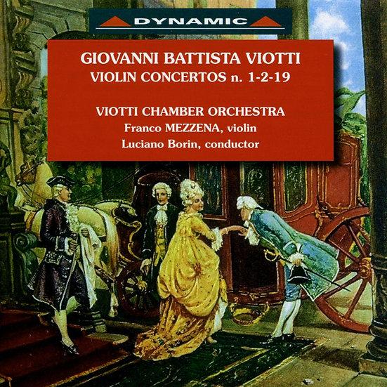 大師的禮讚 – 維歐提小提琴協奏曲全集2 (CD)【Dynamic】