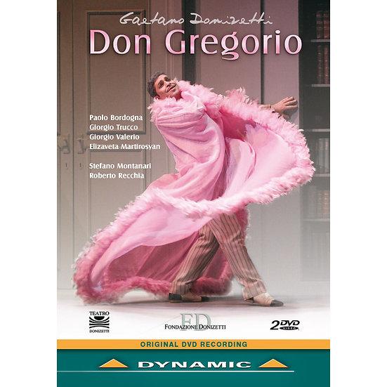 董尼才第:歌劇《唐.格雷戈里奧》 Gaetano Donizetti: Don Gregorio (2DVD)【Dynamic】