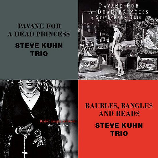 史帝夫.庫恩三重奏:死公主的孔雀舞+手鐲與項鍊 (限量2CD豪華決定盤)【Venus】
