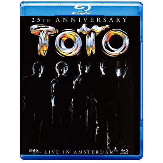 托托:阿姆斯特丹現場演唱會 Toto: 25th Anniversary Live In Amsterdam  (藍光Blu-ray) 【Evosound】