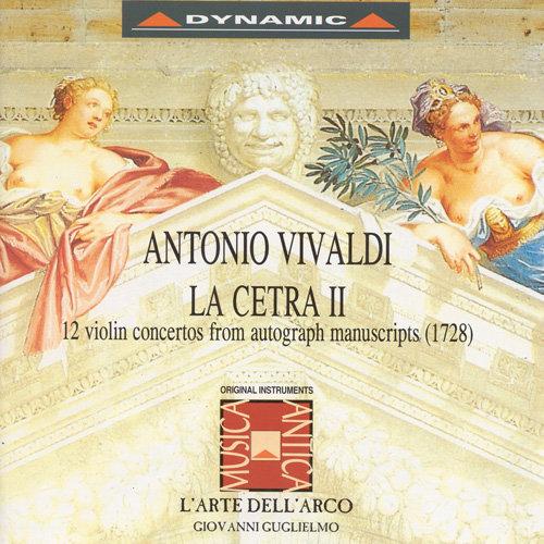 韋瓦第:小提琴協奏曲集「七弦琴2」 Vivaldi: La cetra - 12 concerti, Op. 9 (2CD)【Dynamic】