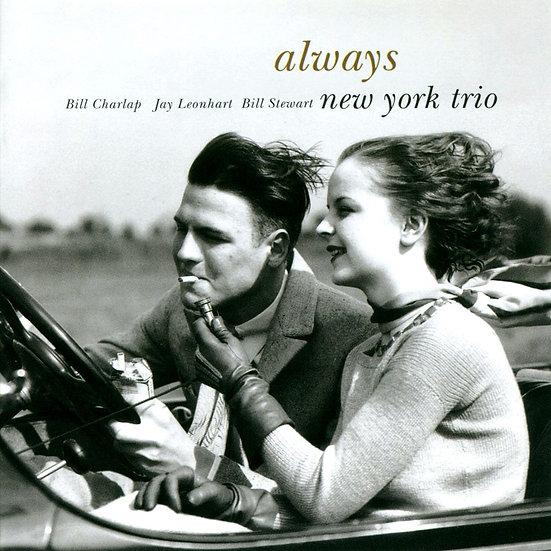 紐約三重奏:艾文柏林歌曲集 New York Trio: Always (CD) 【Venus】