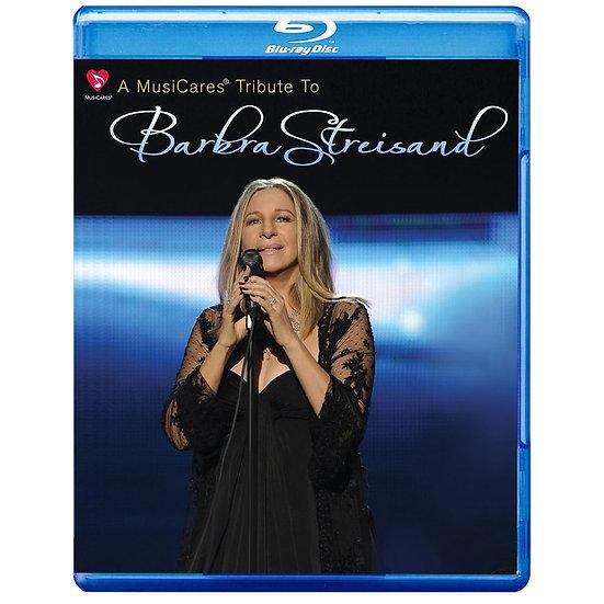 芭芭拉.史翠珊與她的朋友 Barbra Streisand: MusiCares Tribute (藍光Blu-ray) 【Evosound】