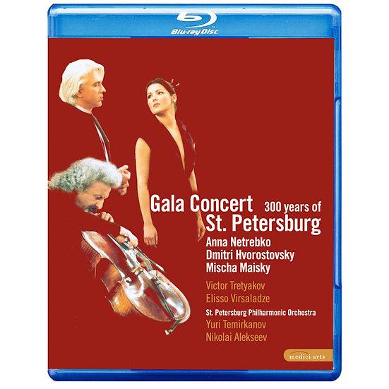 聖彼得堡建城300週年紀念音樂會演出實況  (藍光Blu-ray) 【EuroArts】