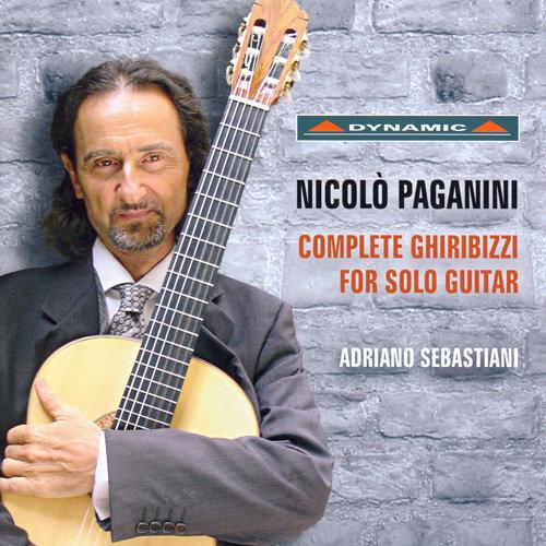 帕格尼尼:吉他奏鳴曲全集 Paganini: Complete Ghiribizzi for Sole Guitar (CD)【Dynamic】