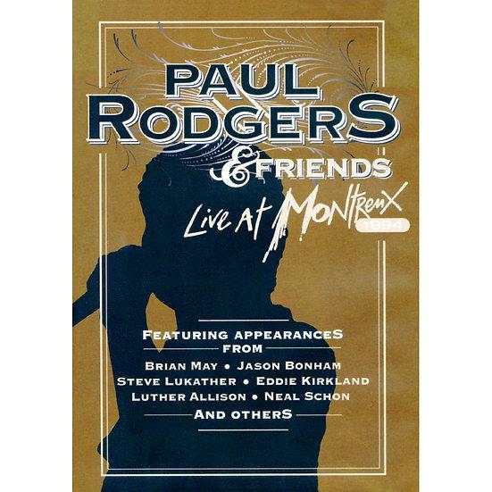 保羅.羅傑斯&好友們:1994蒙特勒現場實錄 (DVD) 【Evosound】
