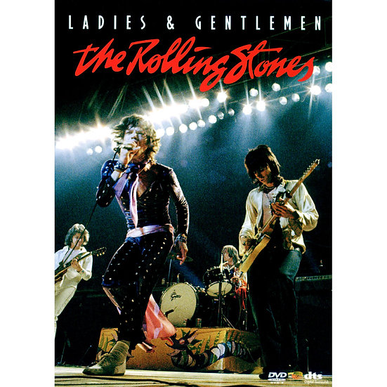 滾石樂團:各位先生女士 Rolling Stones: Ladies & Gentlemen (DVD) 【Evosound】