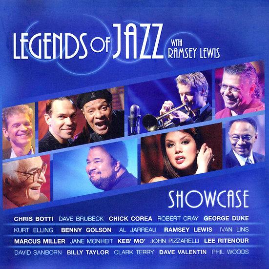 SHOWCASE 爵士樂傳說 雷西路易斯 (CD+DVD) 【Evosound】