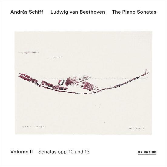 貝多芬鋼琴奏鳴曲集2 鋼琴:席夫 András Schiff / Beethoven: Piano Sonatas Vol.2 (CD) 【ECM】