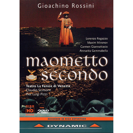 羅西尼:歌劇《穆罕默德二世》 Gioachino Rossini: Maometto Secondo (2DVD)【Dynamic】