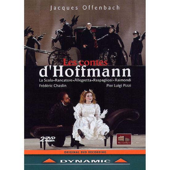 奧芬巴哈:歌劇《霍夫曼的故事》 Jacues Offenbach: Les Contes d'Hoffmann (2DVD)【Dynamic】