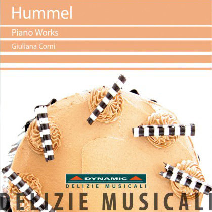梅爾:鋼琴作品集 J. N. Hummel: Piano Works (CD)【Dynamic】
