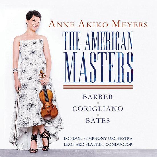 安.梅耶:美利堅大師 Anne Akiko Meyers: The American Masters (CD) 【Evosound】