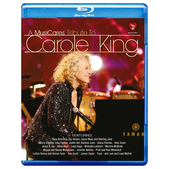 向卡洛金致敬演唱會 MusiCares Tribute to Carole King (藍光Blu-ray) 【Evosound】