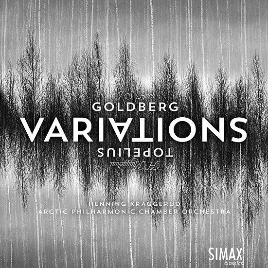 巴哈:郭德堡變奏曲(弦樂版) 小提琴:亨寧.克拉格魯德/北極愛樂室內樂團 (CD) 【Simax Classics】