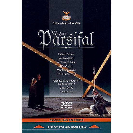 華格納:歌劇《帕西法爾》 Richard Wagner: Parsifal (3DVD)【Dynamic】