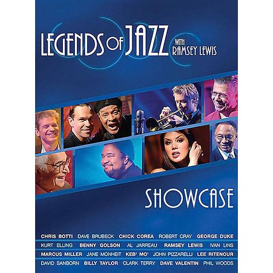 SHOWCASE 爵士樂傳說 雷西路易斯 (DVD) 【Evosound】