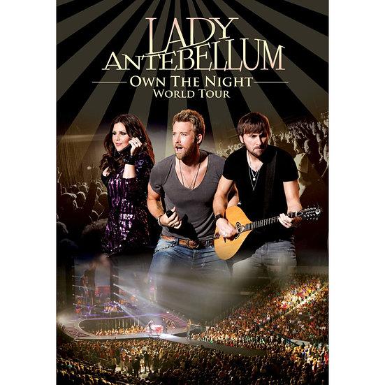懷舊女郎:午夜情深演唱會 Lady Antebellum: Own The Night World Tour (DVD) 【Evosound】