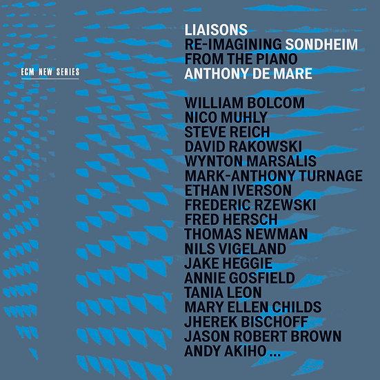 聯絡:對於桑坦的重新想像|鋼琴:安東尼.德馬雷 (3CD) 【ECM】