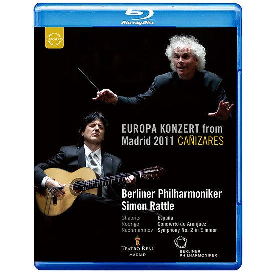 2011歐洲音樂會 在西班牙馬德里 Europa Konzert 2011 from Madrid (藍光Blu-ray) 【EuroArts】
