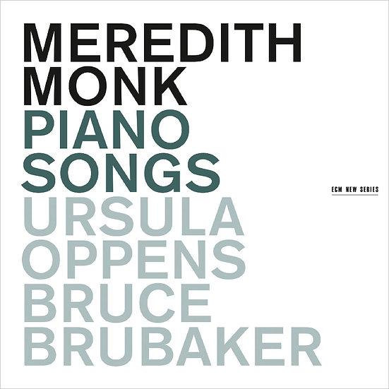梅芮迪斯.蒙克:琴歌 Meredith Monk: Piano Songs (CD) 【ECM】
