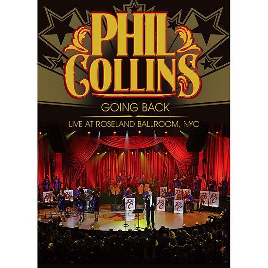 菲爾.柯林斯:「重返榮耀」紐約演唱會 Phil Collins: Going Back - Live at Roseland (DVD)【Evosound】